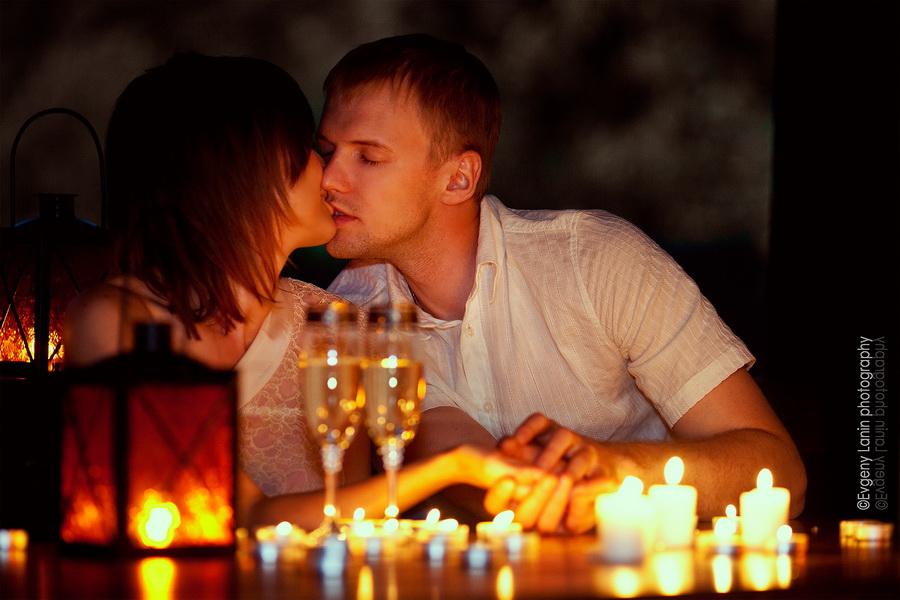 Открытка, картинки ужин при свечах на двоих романтика